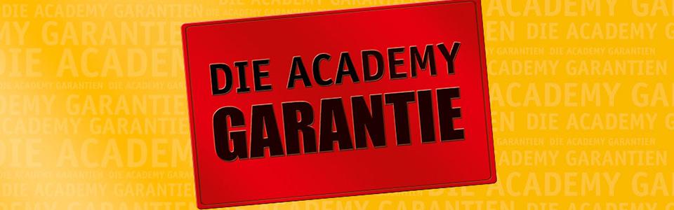 Die Academy Garantie bei Academy Fahrschule Rossini
